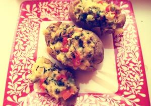 stuffed baked potato